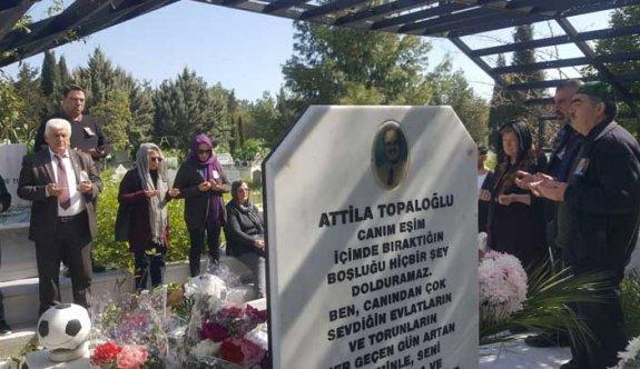 Attila Topaloğlu anılacak