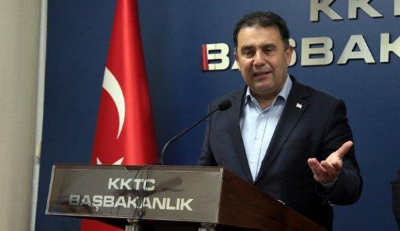 Başbakan Saner, Ankara'ya gitti