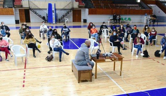 Basketbol hakem eğitim kursu tamamlandı