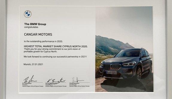 BMW'den Çangar Motors'a onurlandıran ödül