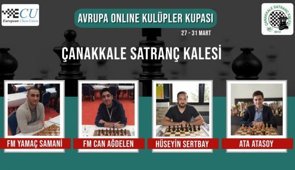Çanakkale satranççıları, Avrupa arenasında hamle yapacak