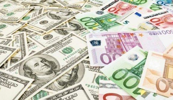 Dolar ve euroda düşüş yüzde 2,5'i geçti