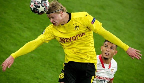 Dortmund, Haaland'la çeyrek finalde