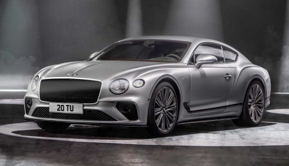En dinamik Bentley: Continental GT Speed