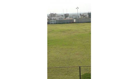 Esat Erdoğmuş Stadına ara ekim yapıldı
