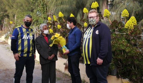 Fenerbahçelilerden, Berkalp'e anlamlı ziyaret