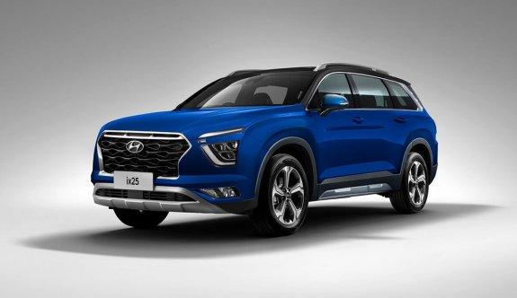 Hyundai'nin 7 koltuklu yeni SUV modeli: Alcazar
