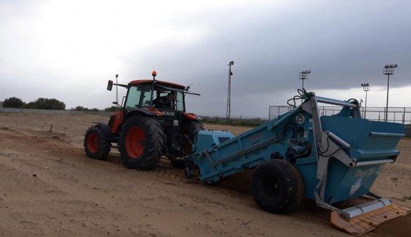 Karadeniz'de çimlendirme çalışmaları hızlandı