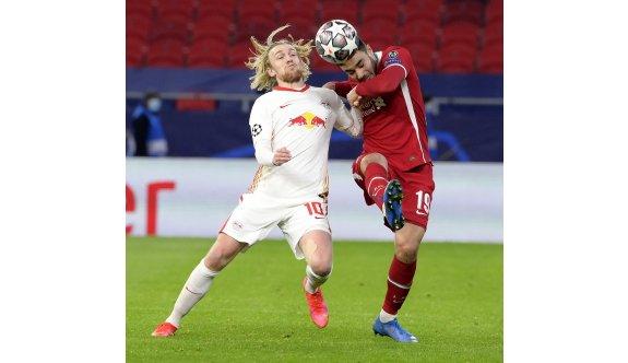 Liverpool, Leipzig'e şans tanımadı