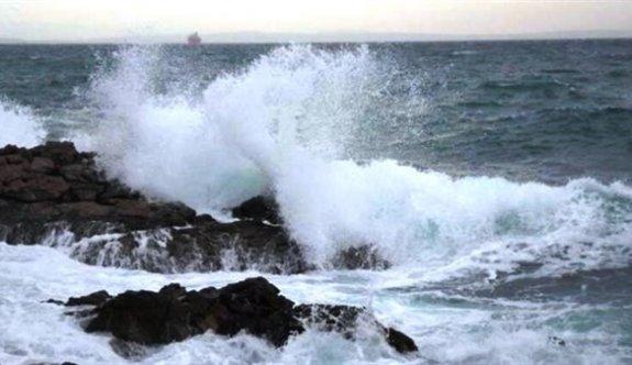Meteoroloji Dairesi'nden denizde fırtınamsı rüzgar uyarısı
