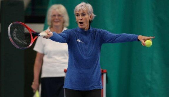 Murray, tenisçilerin konuğu oldu