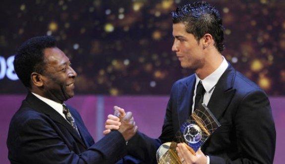 Ronaldo, Pele'nin rekorunu kırdı