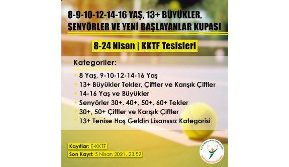 Teniste turnuva heyecanı yaşanacak