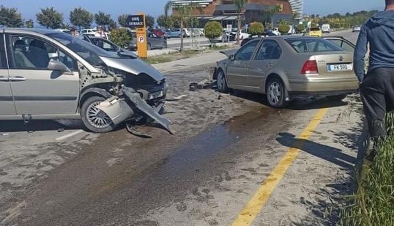 Girne - Alsancak çevre yolunda ölümlü kaza