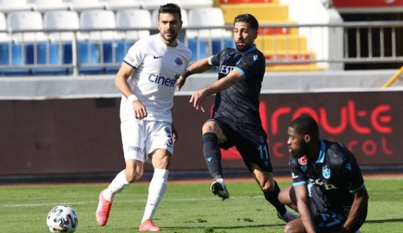 Trabzonspor, Kasımpaşa'yı Bakasetas'la geçti