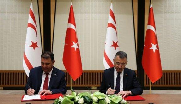 Türkiye-KKTC 2021 Yılı İktisadi ve Mali İşbirliği Protokolü imzalandı