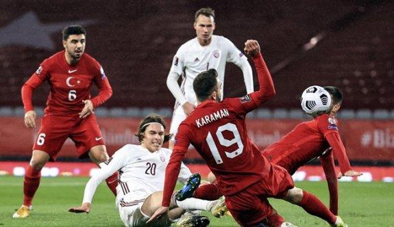 Türkiye yine Letonya'ya takıldı