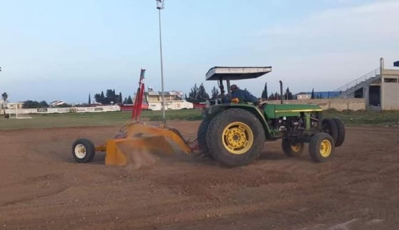 Yeni Boğaziçi'nde çimler ekildi