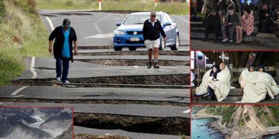 Yeni Zelanda'da art arda depremler