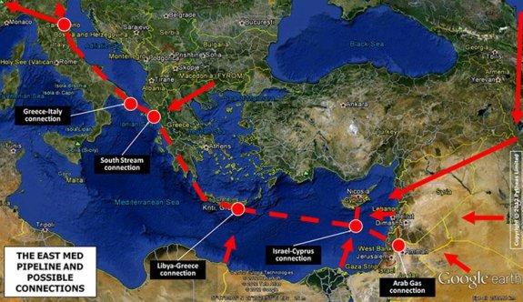 8 ülkeden EastMed boru hattı için Avrupa Komisyonu'ndan destek talebi
