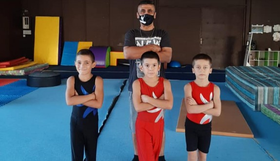 Cimnastikte yarışma zamanı