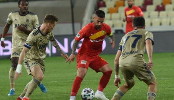 Fenerbahçe, Malatya deplasmanında kayıp
