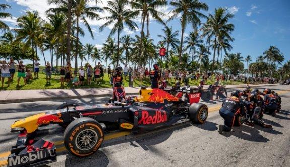 Formula 1'de yeni yarış
