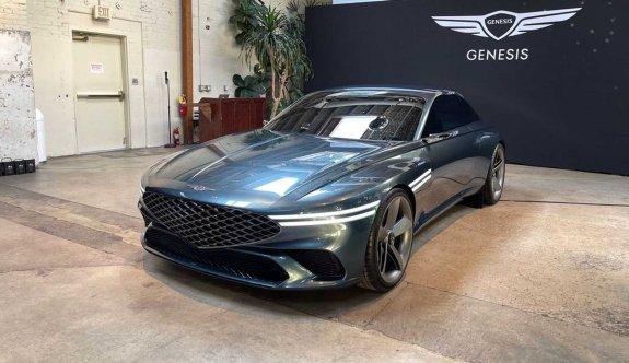 Genesis, elektrikli coupe konseptini görücüye çıkardı