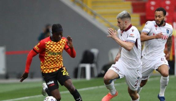 Göztepe ile Trabzonspor birer attı birer aldı
