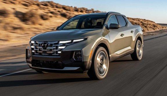 Hyundai'nin ilk pick-up modeli Santa Cruz