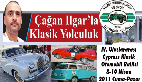 IV. Uluslararası Cypress Klasik Otomobil Rallisi