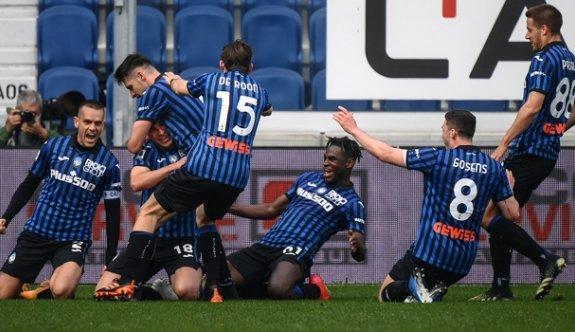 Juventus'a Atalanta çelmesi