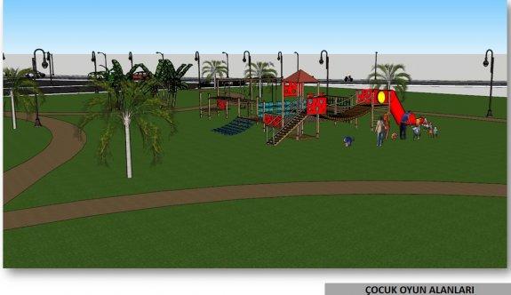 Kalecik Halk Plajı ve Yeşil Alan Rekreasyon Projesi için ilk etap çalışmaları başlıyor