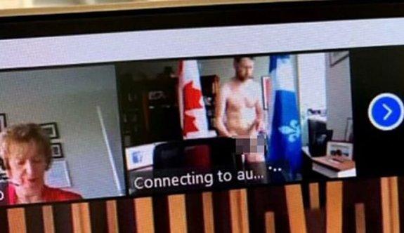 Kanadalı vekil meclis oturumunda çıplak yakalandı