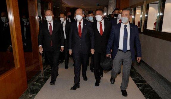 """""""Kıbrıs konusunun esası egemenliktir"""""""
