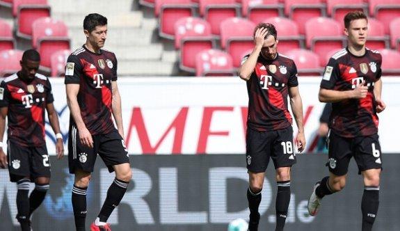 Lider Bayern Münih'e Mainz şoku