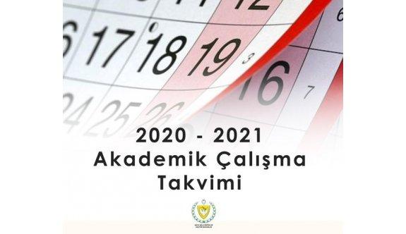 Milli Eğitim Bakanlığı 2020 - 2021 Akademik Çalışma Takvimi yeniden düzenlendi