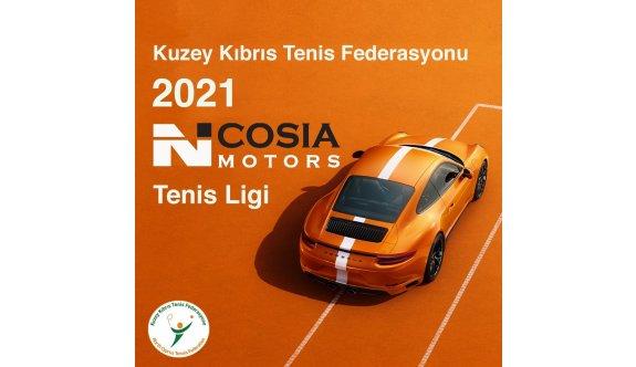 Nicosia Motors tenis ligi başlıyor