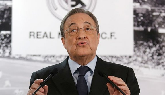 """Real Madrid Başkanı Perez'den """"seçim"""" kararı"""