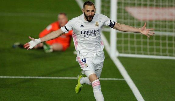 Real Madrid, Benzema'nın rekoruyla 3 puanı kaptı