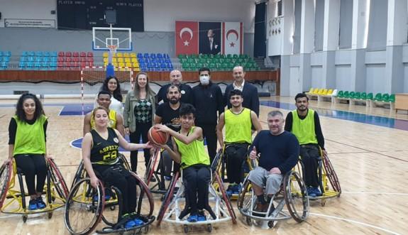 Sapsızoğlu'ndan, Aspelya Kulübüne ziyaret