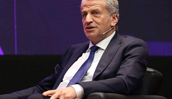 Sertoğlu, UEFA Yönetim Kurulu'na seçilen Yardımcı'yı kutladı