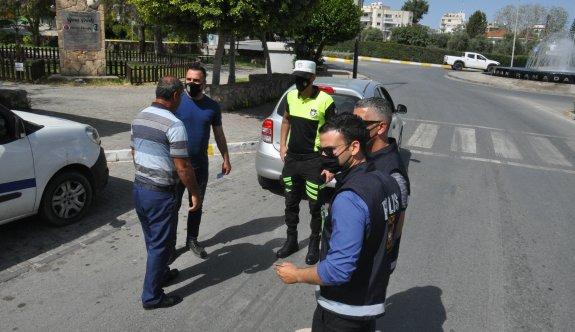 Sokağa çıkma yasağını ihlal eden 108 kişiye ceza kesildi