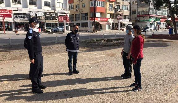 Sokağa çıkma yasağını ihlal eden 5 kişiye ceza kesildi