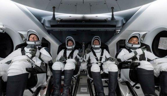 SpaceX ile ikinci sefer: NASA, uzaya 4 astronot gönderiyor