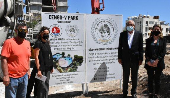 Süleyman Cengiz Eminoğlu Parkı için temel atıldı