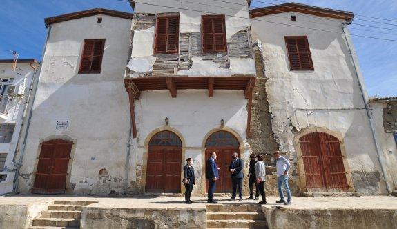 Tarihi Osmanlı konağı hayat bulacak