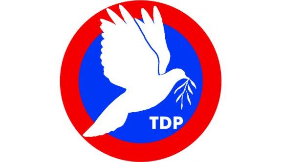 TDP, Barolar Birliği'nin eylemine destek belirtti