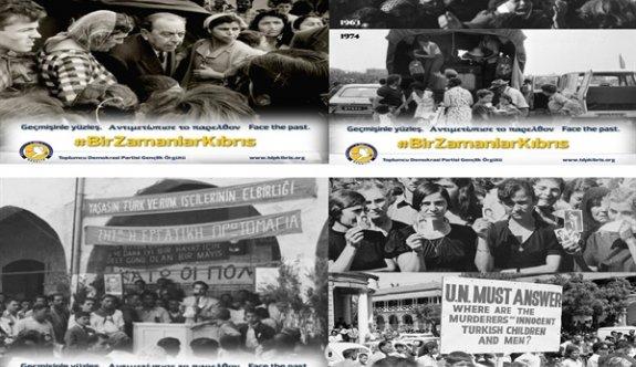 TDP Gençlik Örgütü #BirZamanlarKıbrıs paylaşım serisi başlattı
