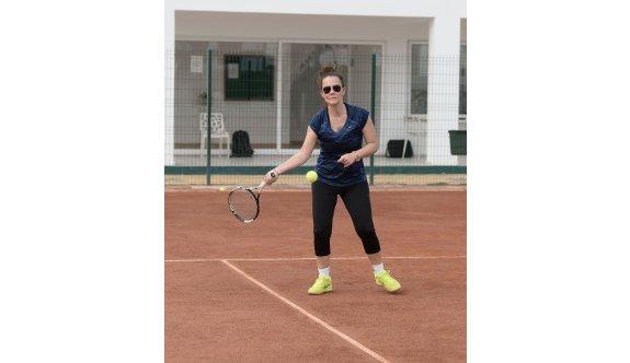 Tenis heyecanı sürüyor